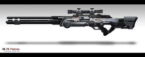 M-19 sniper rifle by Tekuuei