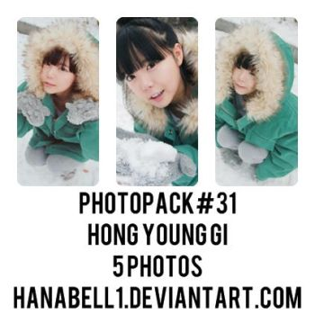 Photopack#31 Hong Young Gi by HanaBell1