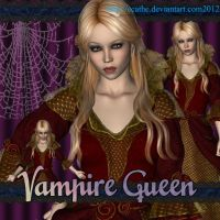 Vampire queen 01 by Ecathe