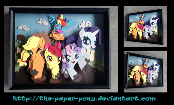 Commission: Sisterhoove's Social Shadowbox by The-Paper-Pony