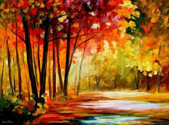 The Turn Of Fortune by Leonid Afremov by Leonidafremov