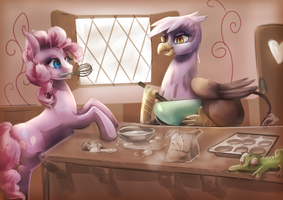 Friends That Bake Together Stay Together by Nalenthi