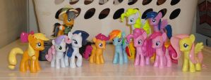 My Collection of Finished Ponies by OtakuSquirrel