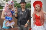 Me and coloruful people Japan Expo 2014 by mopiou