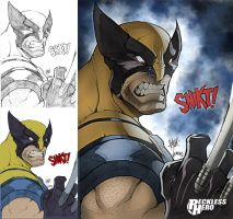 Wolverine (2014) by RecklessHero