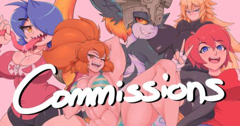 COMMISSIONS SUMMER 2018 by MehDrawings