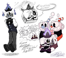 king dice but he is sp00ky by Ashuribbon