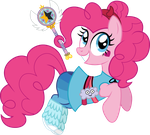 Pinkie Pie Butterfly by CloudyGlow
