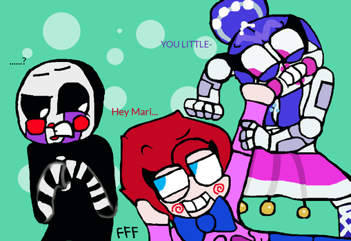 Draw your squad: YOU LITTLE- by FNAFFlipflops