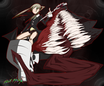 Maka and Demon Soul by SourShockX