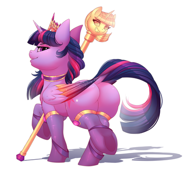 Snooty Princess Horse by Evehly