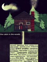 Cabin in the Woods by ForgettableDogs