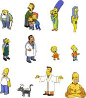 Simpsons Vector by Dr-Mastermind
