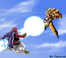 An epic battle by Tomycase