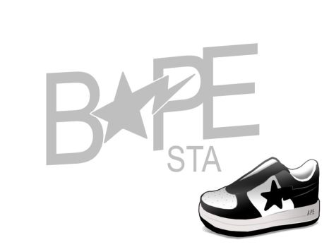 Bapesta Wallpaper by Markhead