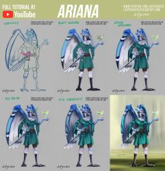 Ariana OC - Commission +Youtube Video by LadyKraken