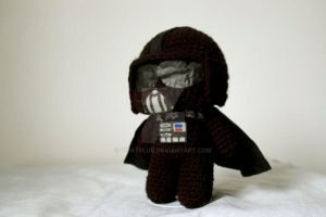 Darth Vader amigurumi by pirateluv