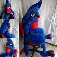 Toxicroak-Pokemon plush-life size.