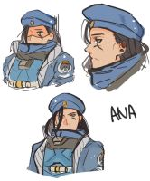 Ana quick doodle by BJMAKI