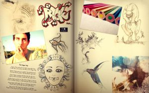 VirtualMoleskine Project p.4 by pica-ae