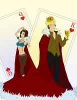 King and Queen by Idonthaveanynickname