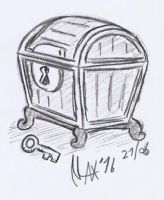 Sketch - Have a chest by megawackymax