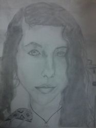 My First Self Portrait by l0tus69