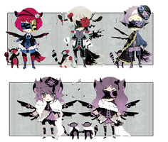 [CLOSED] ADOPT AUCTION 87 - Blind Lace RARITY by Piffi-sisters