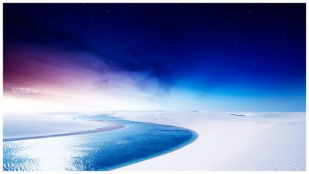 White paradise by Ellysiumn