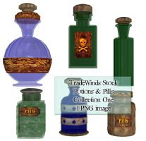 TW3D Potions and Pills One by TW3DSTOCK