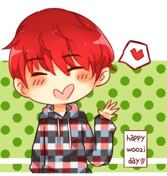 Happy Woozi Day by vanes-is-ded