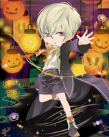 100 Dreamselfy Theme (Gacha) 40. Witch-Boy by winifer0216