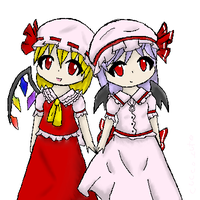The two Scarlet Sisters by Cucco-cute
