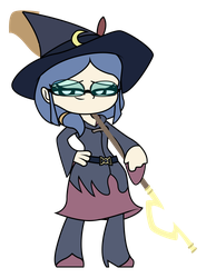 Little Witch Academia - MINI Ursula Callistis by Rainheart94