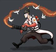 Fancy medic by AtomicRay