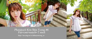 Photopack Kim Shin Yeong #6 by trang2232001