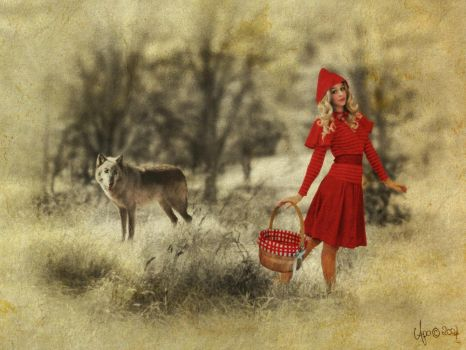 Little Red Riding Hood by Apple-In