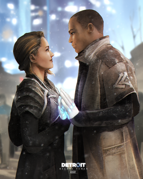 Detroit Become Human | This is the End by lBlacKiE-MaiDeNl
