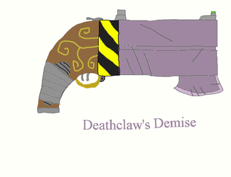 D4RKTR4P Weapon: Deathclaw's Demise by Fuzzinator23