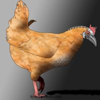 USSR Cyber-chicken by darth-biomech