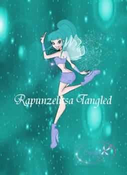 Wendy magic winx transformation (with bg) by RapunzelitsaTangled