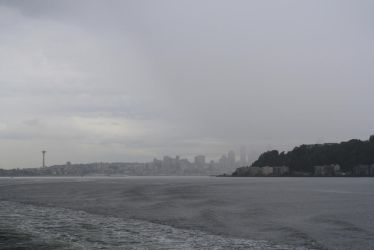 Seattle Through the Mist by Neo-Moon
