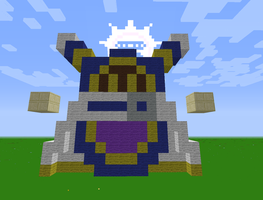Minecraft Magolor by magolorandmarx