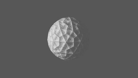 Wireframe Icosphere by paintevil