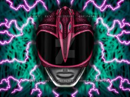 Pink Ranger Mighty Morphin by blueliberty