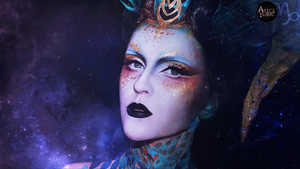 MAKEUP - Zodiac signs [Capricorn] by AliceYuric