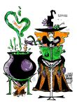 Witch Potions by MaraSun