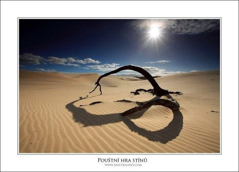 The shadow of the desert by JiriStransky