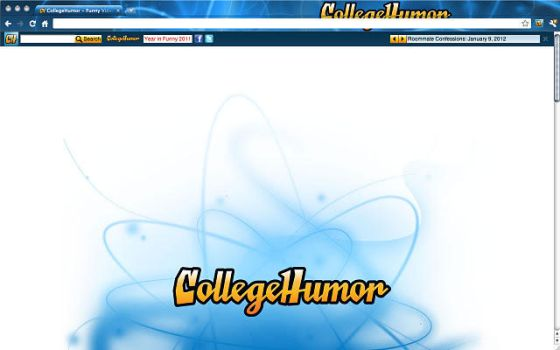 College Humor Chrome Theme by brandthunder