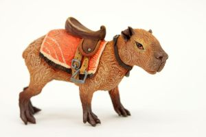 Saddled capybara by hontor